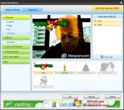 Screenshot ManyCam Windows 7