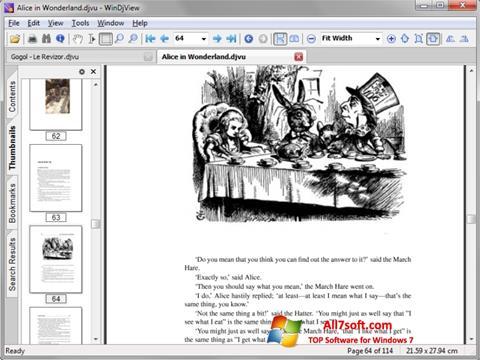 Screenshot DjView Windows 7