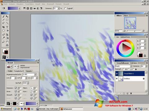 Screenshot Artweaver Windows 7