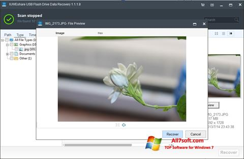 Screenshot USB Flash Drive Recovery Windows 7