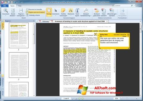 Screenshot Nitro PDF Reader Windows 7