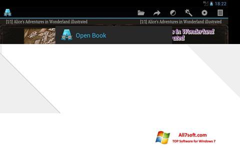Screenshot AlReader Windows 7