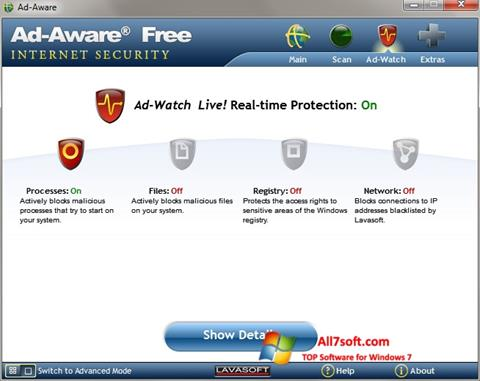Screenshot Ad-Aware Windows 7
