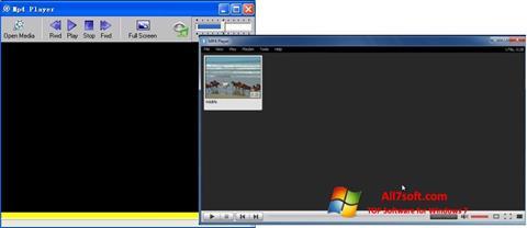 Screenshot MP4 Player Windows 7