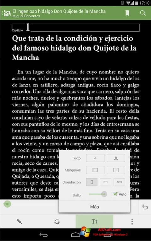 Screenshot BookReader Windows 7