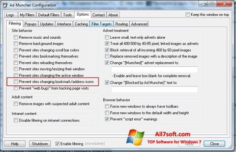 Screenshot Ad Muncher Windows 7