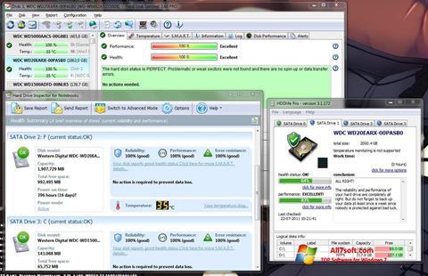 Screenshot HDD Health Windows 7