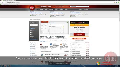 Screenshot Comodo Dragon Windows 7
