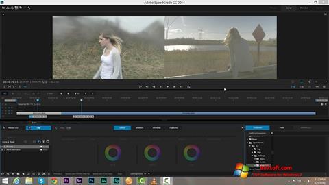 Screenshot Adobe SpeedGrade Windows 7