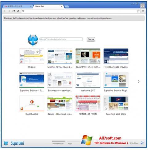 Screenshot Superbird Windows 7