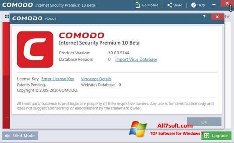 Screenshot Comodo Windows 7
