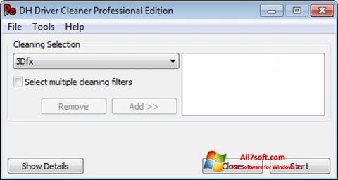 Screenshot Driver Cleaner Windows 7