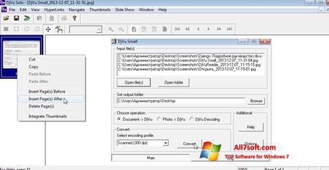 Screenshot DjVu Solo Windows 7