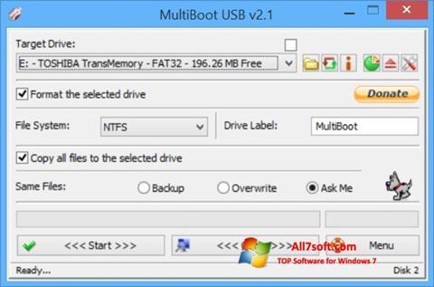 Screenshot Multi Boot USB Windows 7