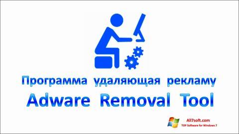 Screenshot Adware Removal Tool Windows 7