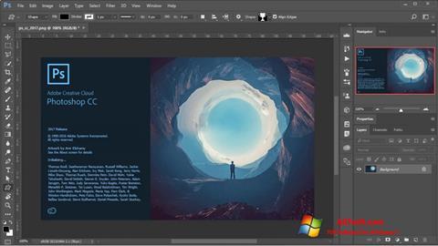 Screenshot Adobe Photoshop Windows 7