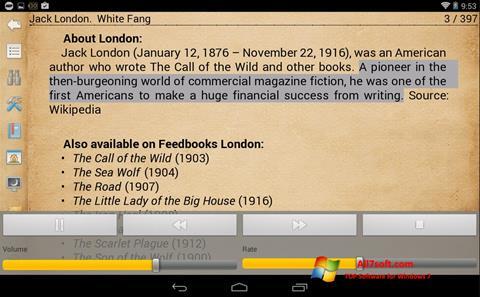 Screenshot Cool Reader Windows 7
