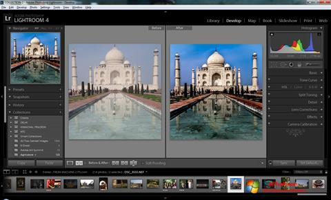Screenshot Adobe Photoshop Lightroom Windows 7