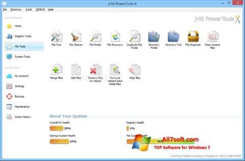 Screenshot jv16 PowerTools Windows 7