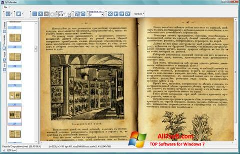 Screenshot DjVu Reader Windows 7