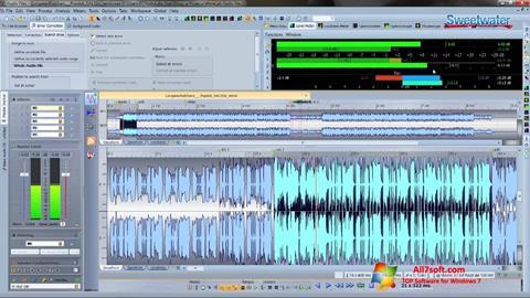 Screenshot WaveLab Windows 7