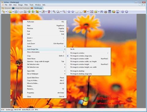 Screenshot XnView Windows 7