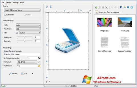 Screenshot WinScan2PDF Windows 7