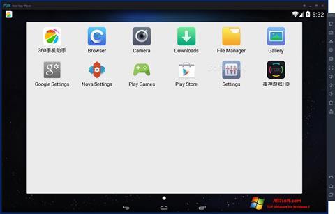 Screenshot Nox App Player Windows 7