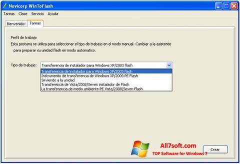 Screenshot WinToFlash Windows 7