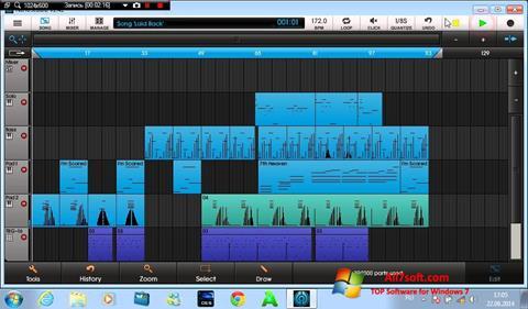 Screenshot NanoStudio Windows 7