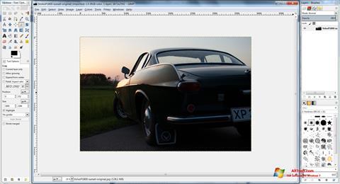 Screenshot GIMP Windows 7