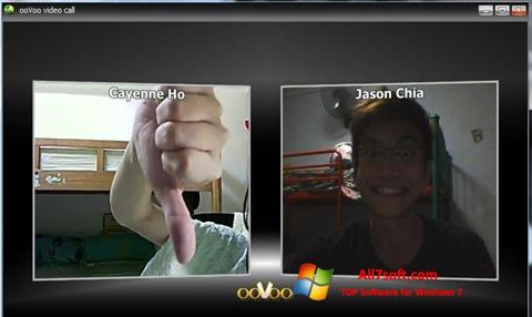 Screenshot ooVoo Windows 7