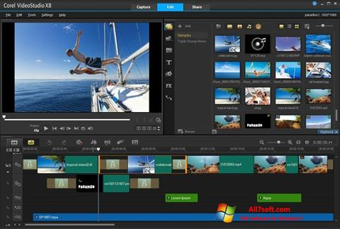 Screenshot Corel VideoStudio Windows 7