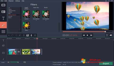 Screenshot Movavi Video Suite Windows 7