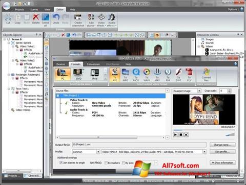 Screenshot Free Video Editor Windows 7