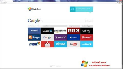 Screenshot Orbitum Windows 7