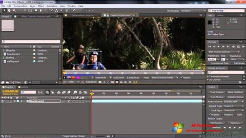 Screenshot Adobe After Effects CC Windows 7