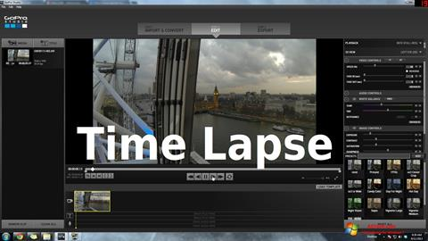 Screenshot GoPro Studio Windows 7