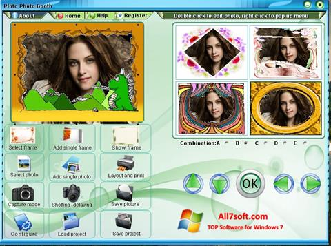 Screenshot Photo Booth Windows 7