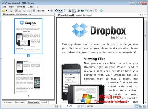 Screenshot STDU Viewer Windows 7