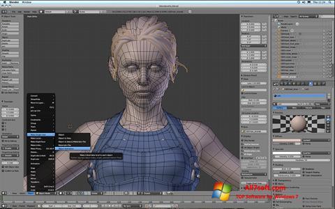 Screenshot Blender Windows 7