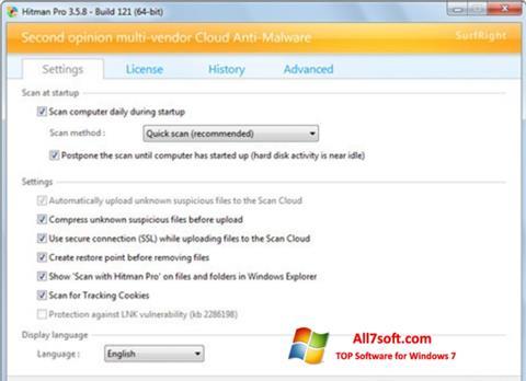 Screenshot HitmanPro Windows 7