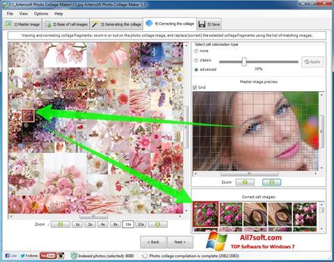 Screenshot Photo Collage Windows 7