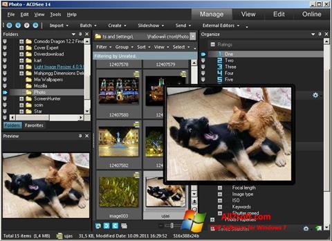 Screenshot ACDSee Photo Manager Windows 7