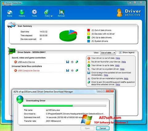 Screenshot Driver Detective Windows 7