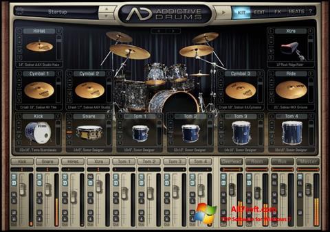 Screenshot Addictive Drums Windows 7