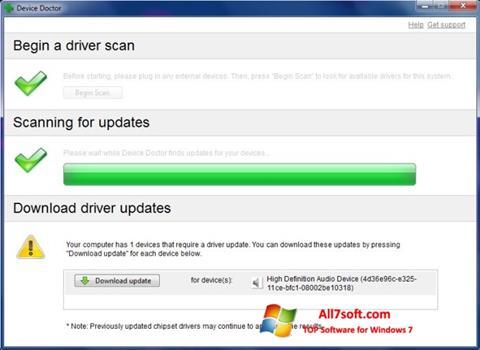 Screenshot Device Doctor Windows 7
