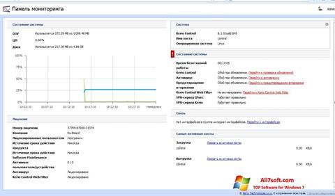 Screenshot Kerio Control Windows 7