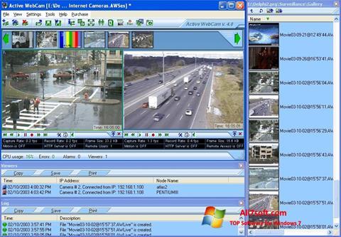 Screenshot Active WebCam Windows 7