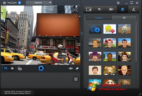 Screenshot CyberLink YouCam Windows 7